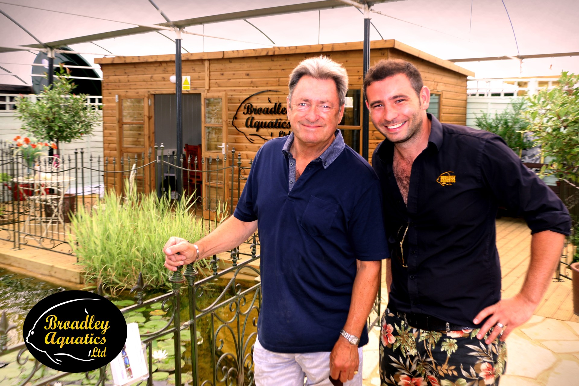 Matt welcomes Alan Titchmarsh